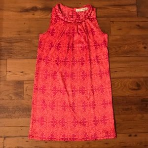 Tracy Negoshian Silky Pink & Orange Tunic Dress